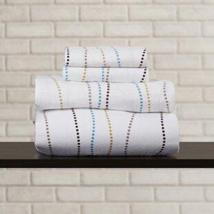 Brayden Studio Vercher Deep Pocket Flannel Cotton Sheet Set