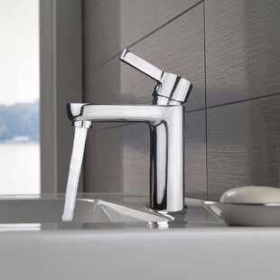 Eviva Metrix Single Hole Bathroom Faucet wit..