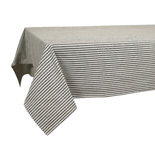 Humphreys Stripes Cotton Tablecloth