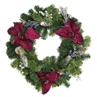 round artificial wreaths versatile shabby be that decorated decor year christmas all chic used can
