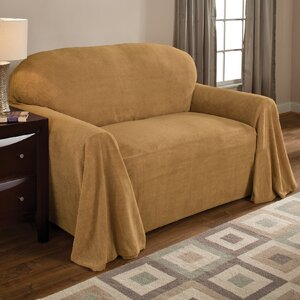 Coral Box Cushion Sofa Slipcover