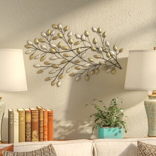 blowing leaves wall dcor - Wall Interiors Designs