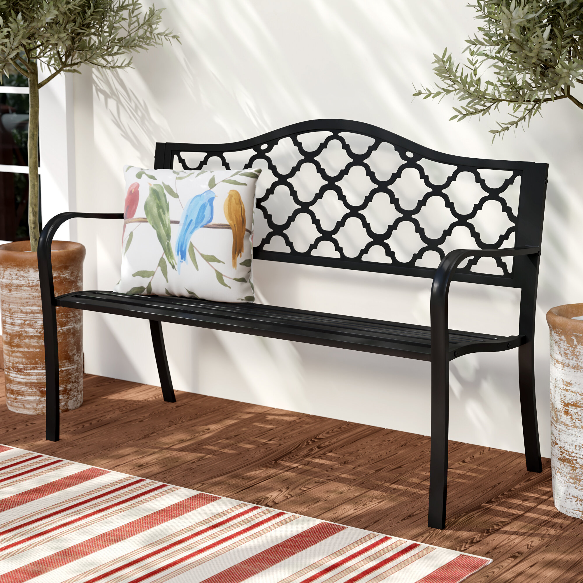 dark pit hayneedle fire product wood outdoor curved coast bench ft master backless cfm coral brown