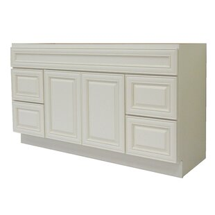 Cabinet 60 Single Bathroom Vanity Base by NGY Stone & Cabinet