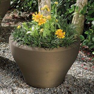 Crescent Garden Juno Plastic Pot Planter