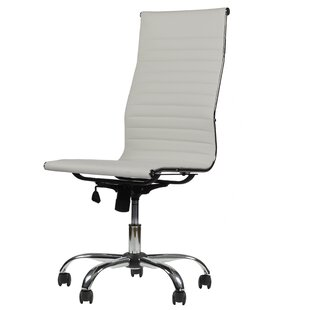 Fleener High-Back Armless Executive Office Chair by Orren Ellis