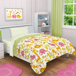 rumble jungle 4 piece toddler bedding set - Toddler Bed Sets