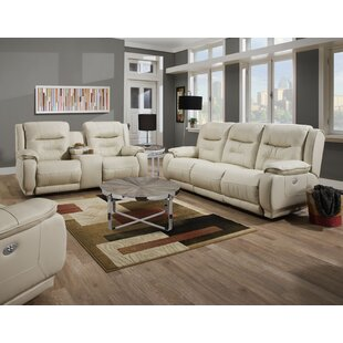 Crescent 2 Piece Reclining Living Room Se..