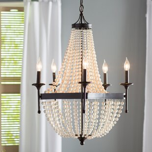 One Allium Way Burlington 5-Light Empire Chandelier