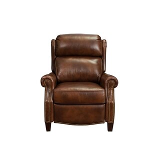 Darby Home Co Benelva Leather Manual Recliner