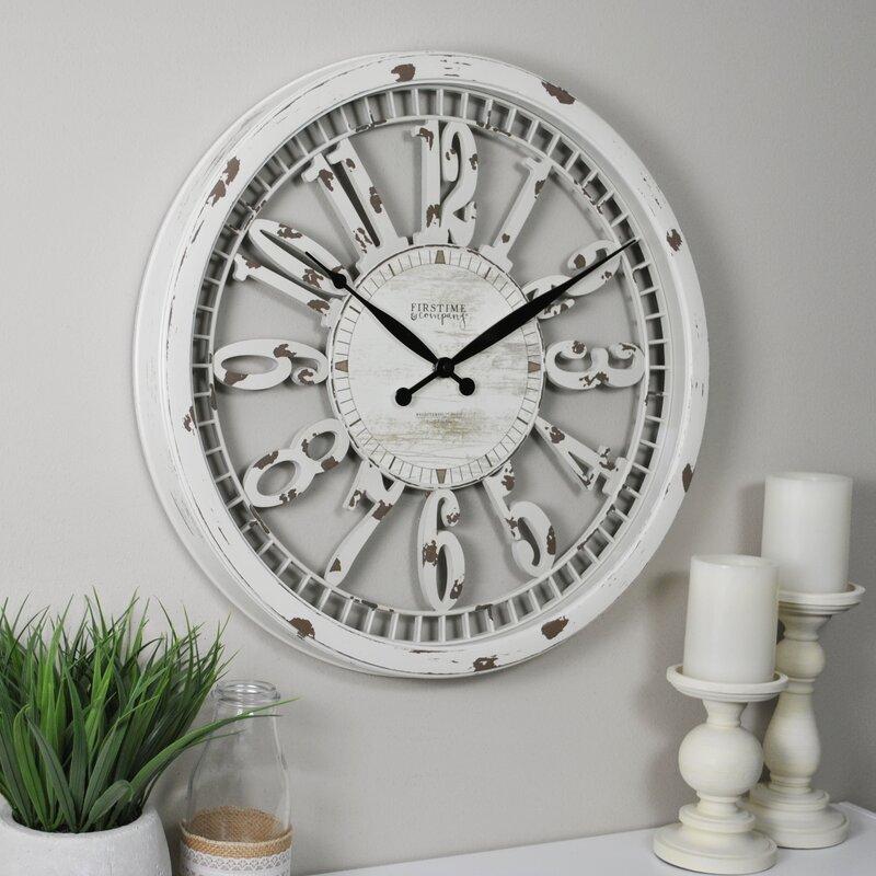 Vintage Shabby Chic Wall Clocks - Stalvey 20