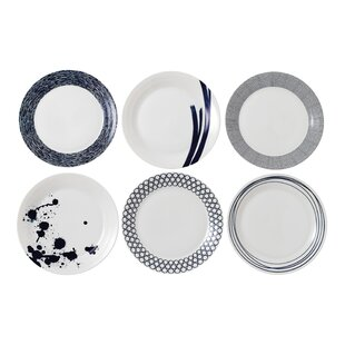 Pacific 6 Piece Dinner Plate Set