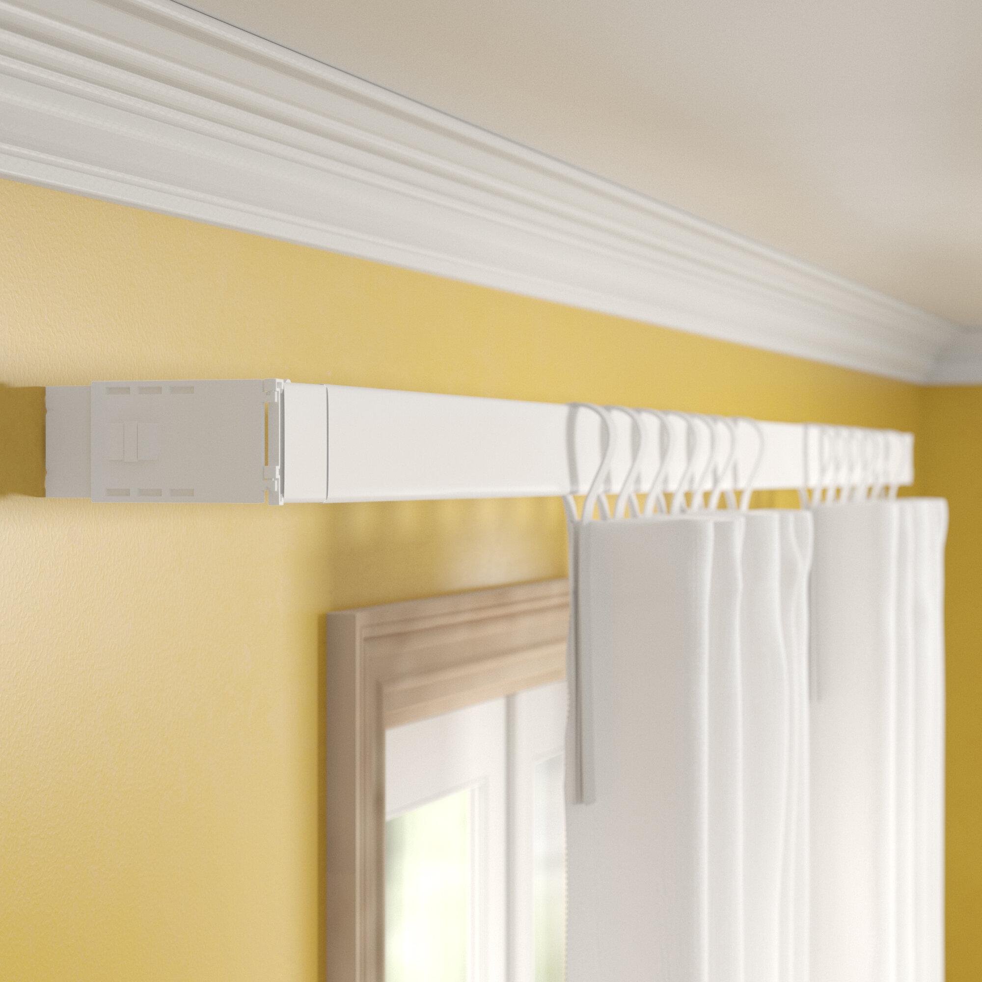 Zipcode Design Shanell Wide Pocket Single Curtain Rod Reviews Wayfair