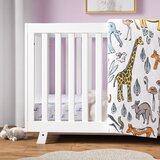 One Size 100/% Cotton MYTODDLER New Carters Sateen Crib Sheet Owl Print