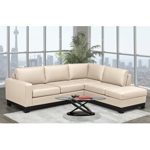 Merideth Leather Condo Sectional
