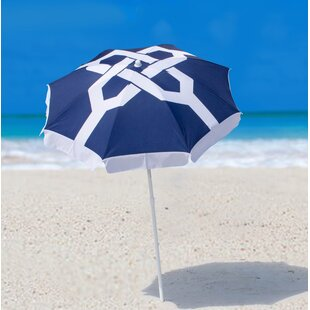 SittinPrettyLLC Nautical Knots Beach Umbrella