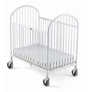 Purchase Pinnacle Folding Compact Crib with Mattress By Foundations