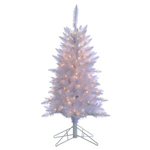 modern christmas trees allmodern - White Outdoor Christmas Tree