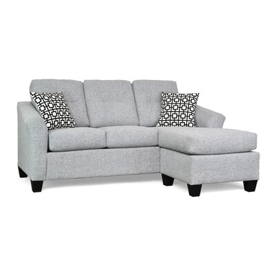 Desales Reversible Sectional Upholstery Color: Alpha 55 by Andover Mills