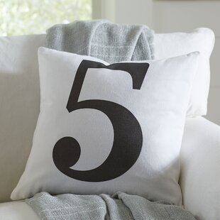 Askov Lucky Number Pillow Cover