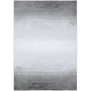 Look for Driggers Gray/White Area Rug By Williston Forge