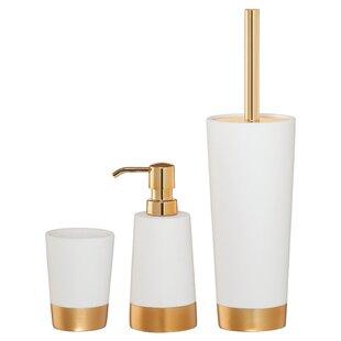 Sealskin Glossy 4 Piece Bathroom Accessory Set