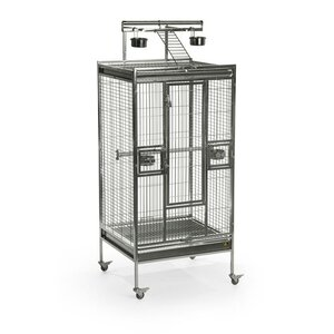 Pet Playtop Bird Cage with Caster