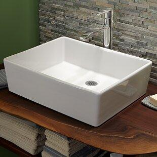 Best Loft Rectangular Vessel Bathroom Sink ByAmerican Standard