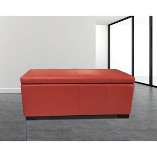 Haslett Upholstered Storage Ottoman By Latitude Run