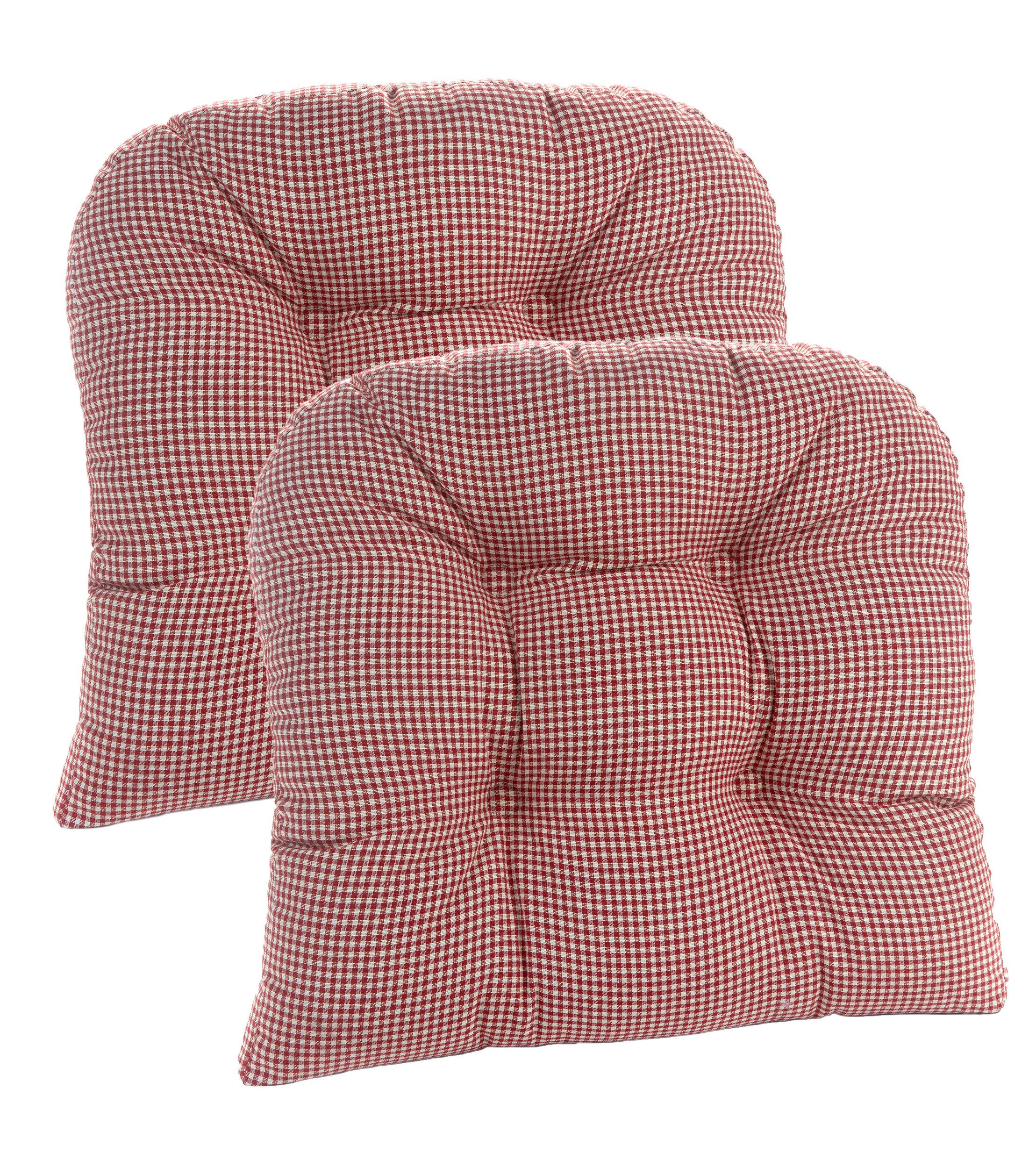 klear vu gripper universal dining chair cushion reviews wayfair rh wayfair com