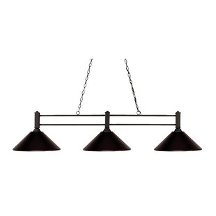 Fleur De Lis Living Beeching 3-Light Pool Table Lights Pendant