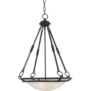 Darby Home Co Gearheart 4-Light Bowl Pendant