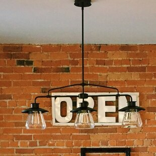 Trent Austin Design Bessie Zoey 3-Light Kitchen Island Pendant