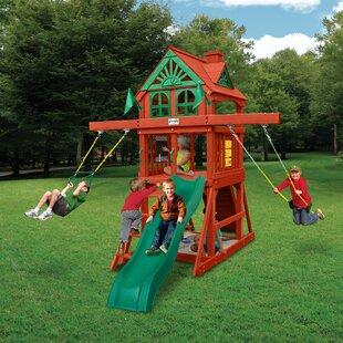 Five Star Ii E Saver Cedar Swing Set
