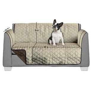 Read Reviews 3 Seat Reversible Quilted Box Cushion Sofa Slipcover by AKC Reviews (2019) & Buyer's Guide
