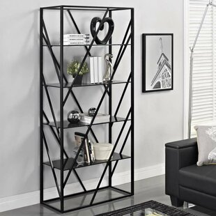 Best Reviews Electra Divider Etagere Bookcase by Creative Furniture