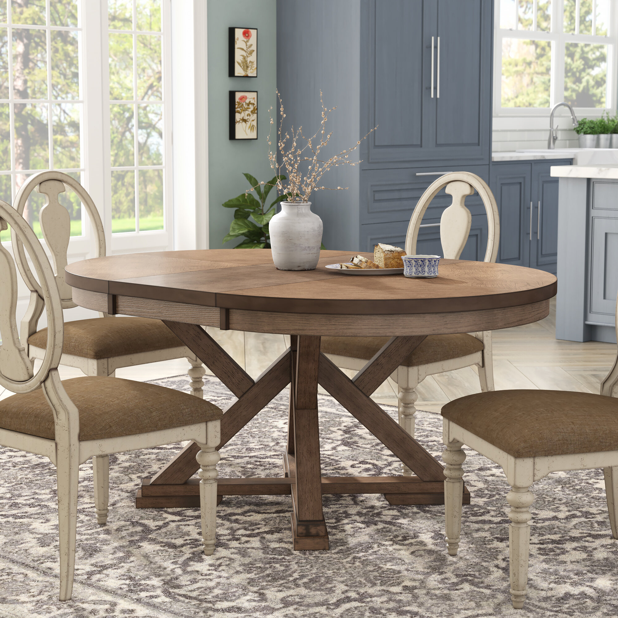 Molena Extendable Butterfly Leaf Dining Table