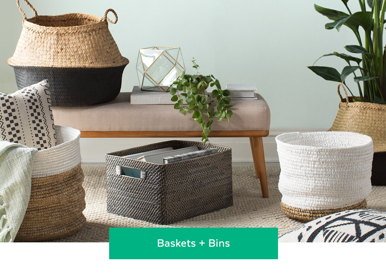 Baskets and Bins