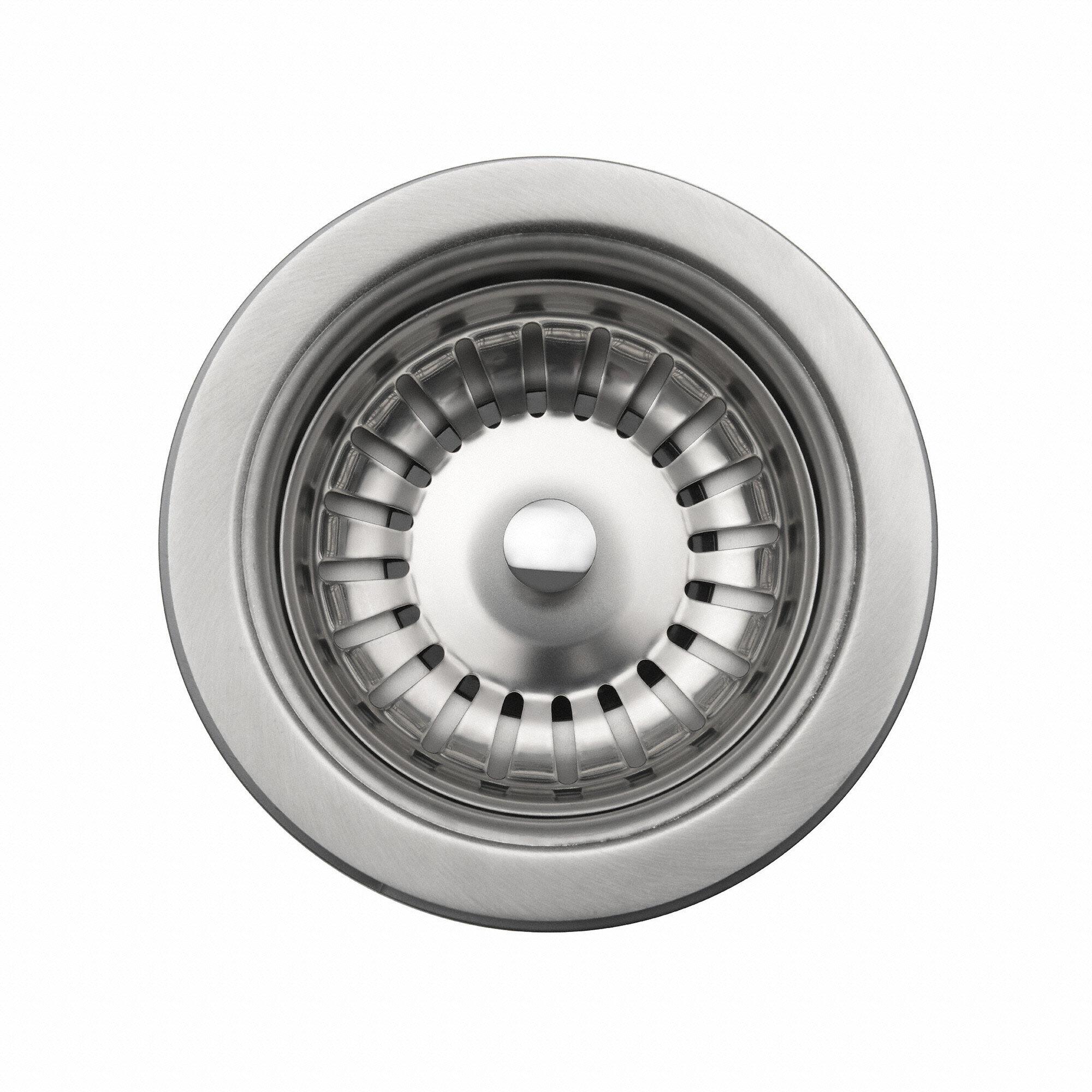 St 1 Kraus Grid Basket Strainer Kitchen Sink Drain Reviews Wayfair