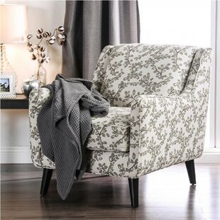 Mendell Floral Armchair by Charlton Home