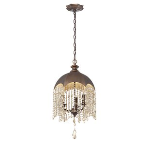 Eurofase Ombrello 3-Light Crystal Chandelier