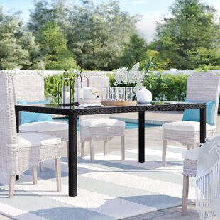 Brentwood Glass Dining Table by Sol 72 Outdoor