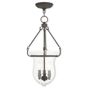 Bay Isle Home Brentwood 3-Light Urn Pendant