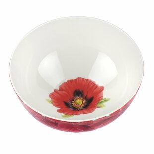 Botanic Blooms Large Poppy Serving Bowl