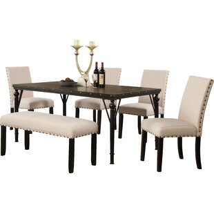 Haysi 6 Piece Dining Set by Greyleigh