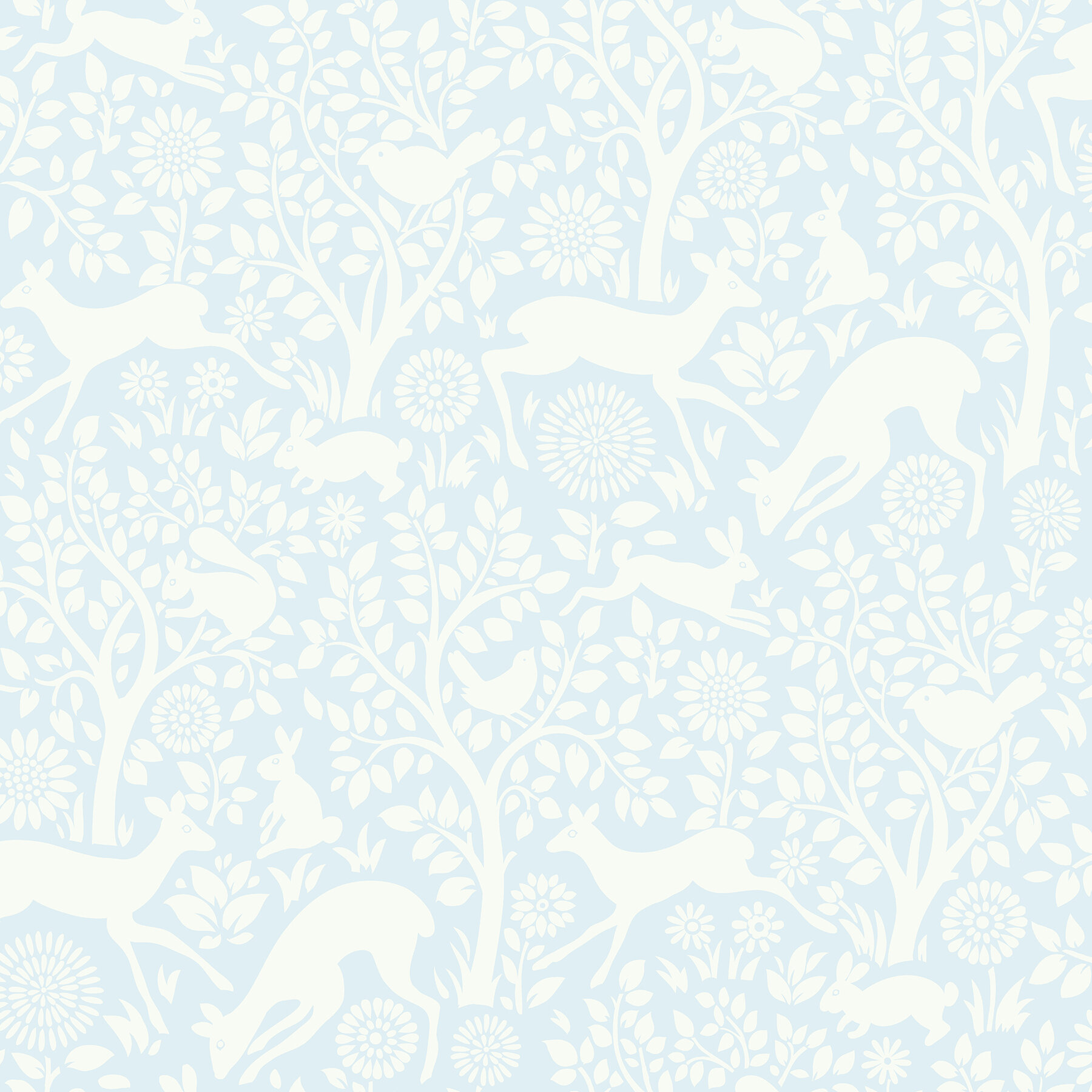 Gracie Oaks Begley 33 X 20 5 Forest Fauna Wallpaper Roll