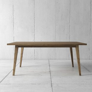 Alloway Solid Wood Dining Table by Foundry Select