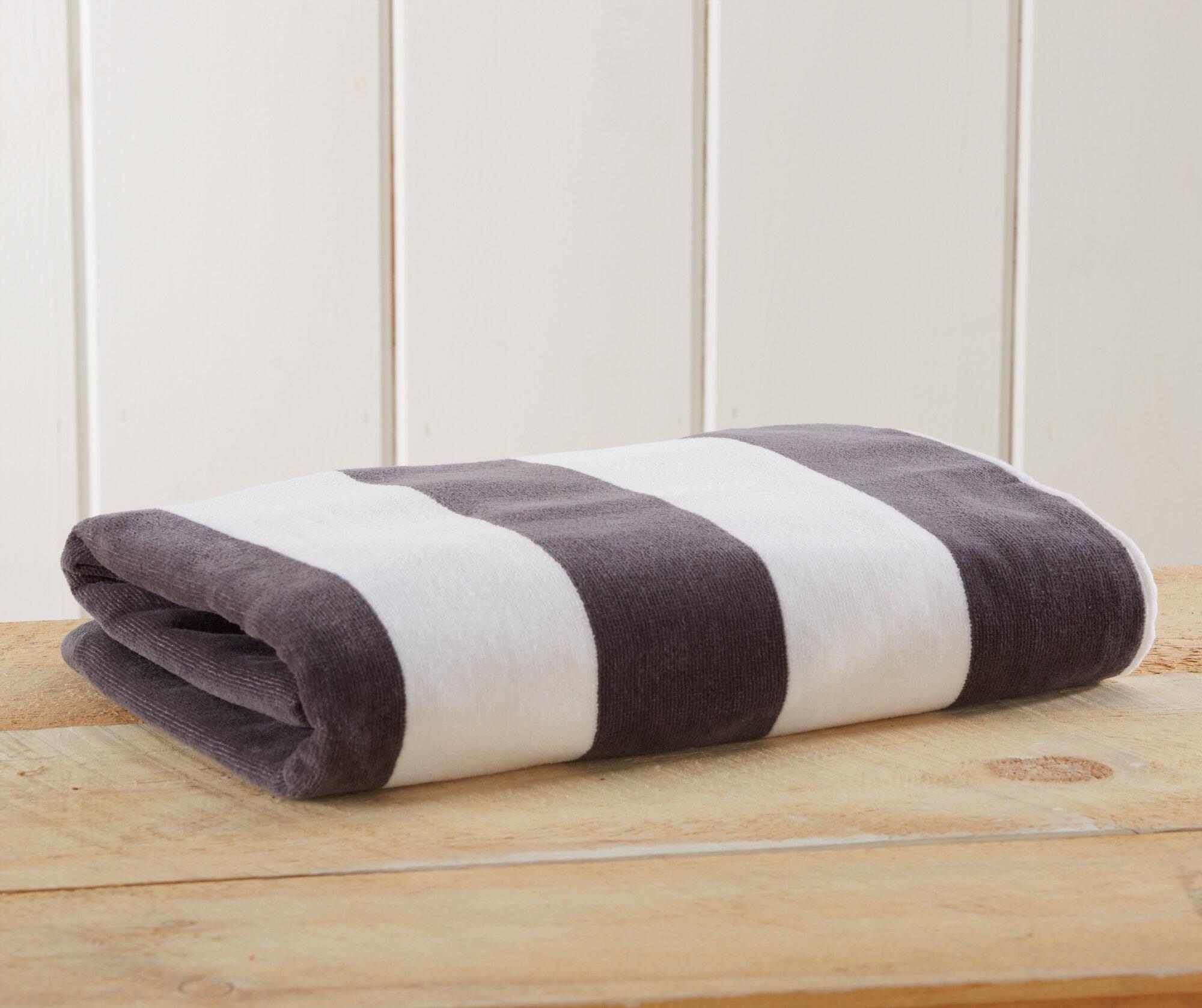Highland Dunes Simone Velour 100 Cotton Beach Towel Reviews Wayfair