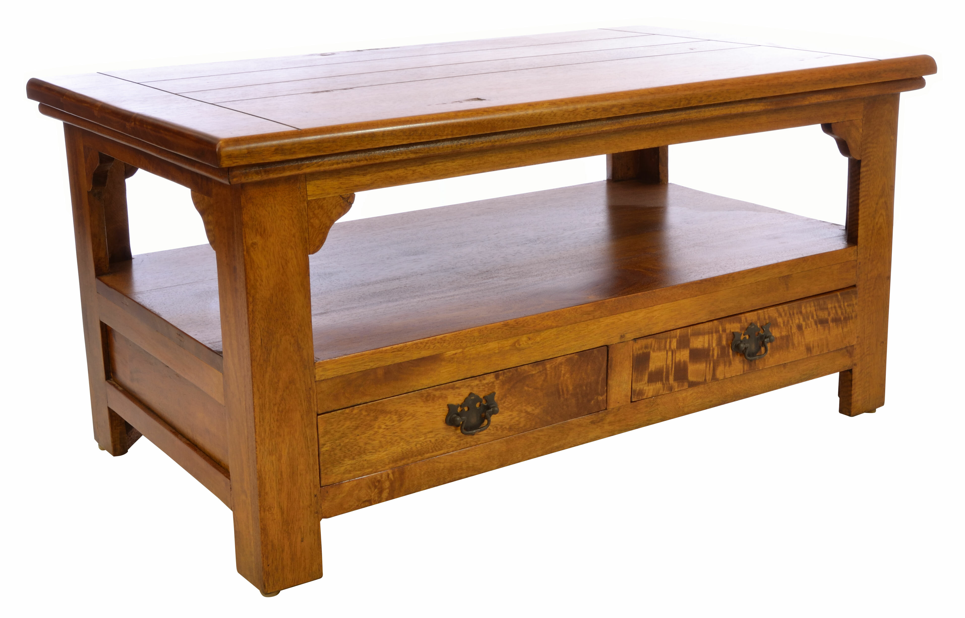 Sanabria Solid Wood Coffee Table
