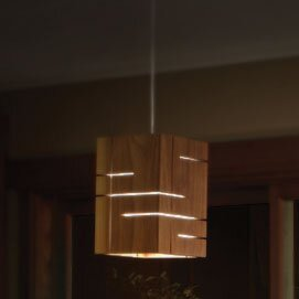Claudo 1-Light Square/Rectangle Pendant by Cerno